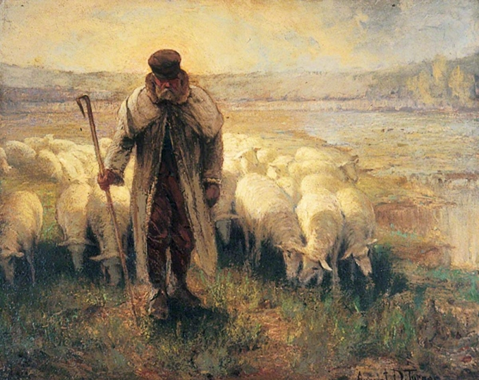 Turner, August D.; Shepherd and Flock